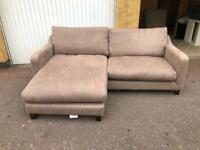 Large Grey corner sofa free delivery London