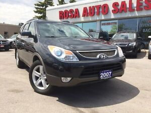 2007 Hyundai Veracruz AWD 7 PASSEGER LIMTED NAVI BACK UP CAMERA