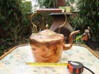 Antique Copper And Bass Kettle