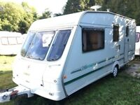 Swift Baronette 4/5 berth caravan +Awning