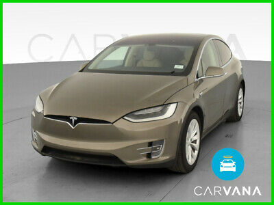 2016 Tesla Model X Model X P90D Sport Utility 4D Knee Air Bags Alarm System F&R Parking Sensors Air Conditioning Rear Ventilated