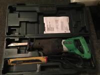 Hitachi reciprocating saw for sale like new