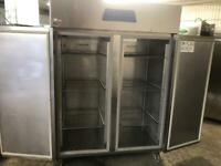 Commercial double door fridge for shop cafe restaurant restaurant takeaway pizza kanaha