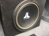 JL Audio 12 inch Sub 12w3v2 & Amp JX360/2 (Subwoofer)