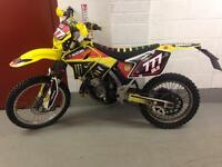 Road legal 2001 rm 125 with full mot and just had rebuild not yz ktm kx cr wr