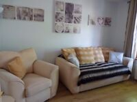 2 double bedroom ensuite with shared living/kitchen and lounge with log burner