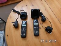 ***Gigaset A1000 Cordless Telephone - Twin Home Phone*** Excellent condition..L@@K