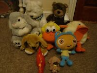 BABY / CHILDRENS SOFT TOYS JOB LOT ALL IN GOOD CONDITION