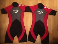 Children's/Child's/Kids Wetsuit Age 8-9 Years and 10-11 Years