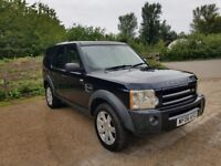 LAND ROVER DISCOVERY 3 2.7 DIESEL TDV6 AUTO 7 SEATER 2006 HSE AUTO