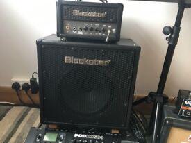 Blackstar HT-Metal 1H Guitar Amp head and cab
