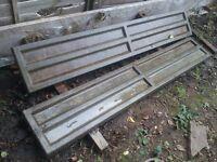 concrete gravel board L 183cm x H 30cm x 5cm for sell in Richmond