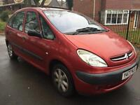 CITROEN XSARA PICASSO LONG MOT STARTS AND DRIVES PERFECT