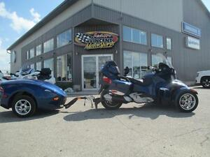 2010 Can-Am RT-S SE5 & RT-622 TRAILER