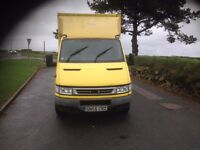 IVECO DAILY 35C12 BOX VAN MWB 2005. 1 OWNER FROM NEW TAIL LIFT no vat £3295 phone 0793215320