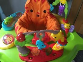 Fisher-Price Roaring Rainforest Jumperoo *excellent condition