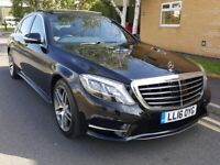 2016 MERCEDES-BENZ S CLASS S350 L AMG LINE EXECUTIVE 9-G TRONIC TOP SPEC E C V A8 730LD for sale  Leicester, Leicestershire