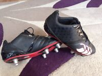 Boys Canterbury Rugby boots size 4 Canford Heath metal studs