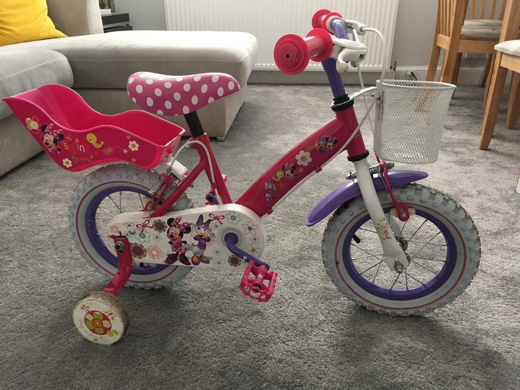 Minnie Mouse bike