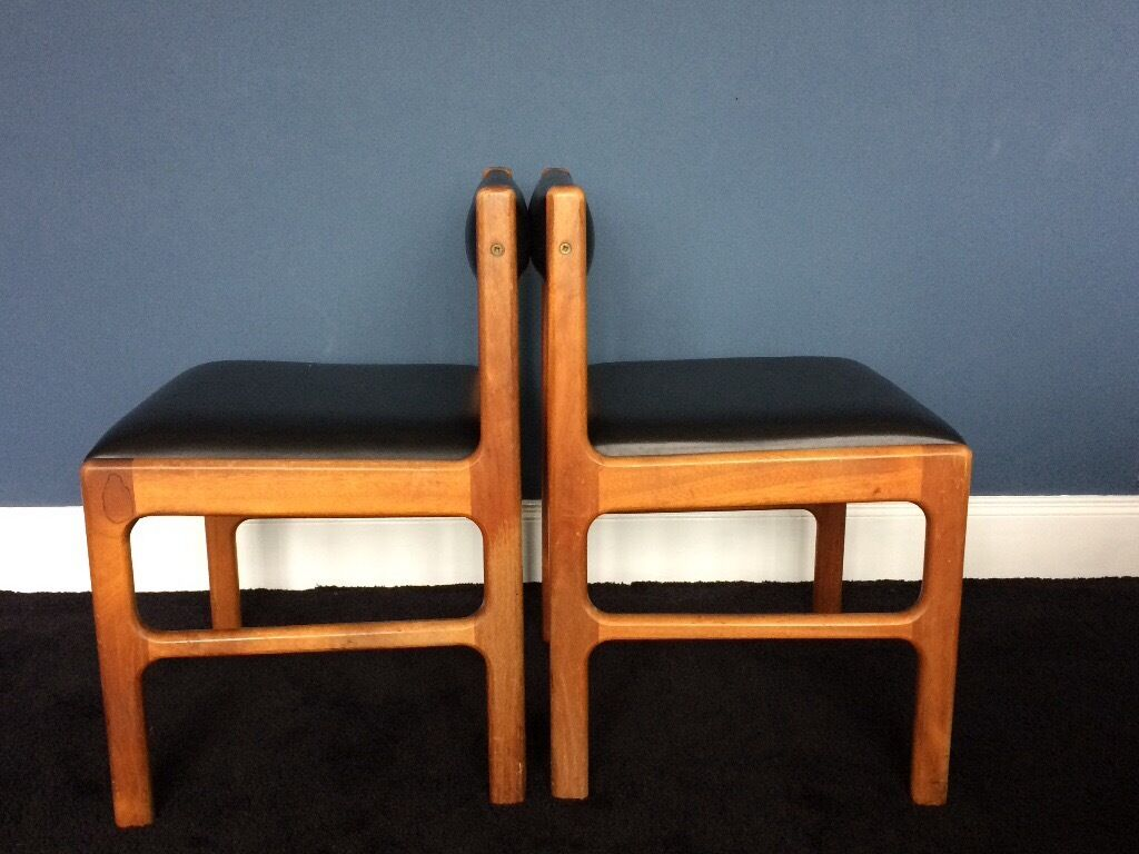Retro Extending Dining Table Teak Retro Extending Dining Table And 6 Chairs In Bangor County