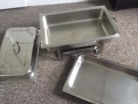 CHAFING DISH PACK - BAIN MARIE - STAINLESS STEEL - BARGAIN!!