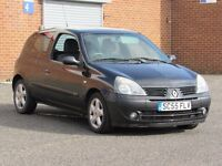 2006/55 Renault Clio 1.5l DCI diesel, 5 months mot, cheap to run, 119000 miles