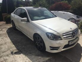 Mercedes C250 AMG Sport 7-G tronic Pan roof Low Milage