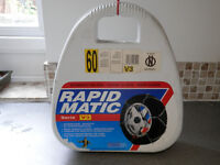 Snow chains - Rapidmatic sizes 60 and 80