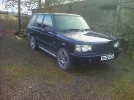 Range Rover P38 1998 Dark Blue