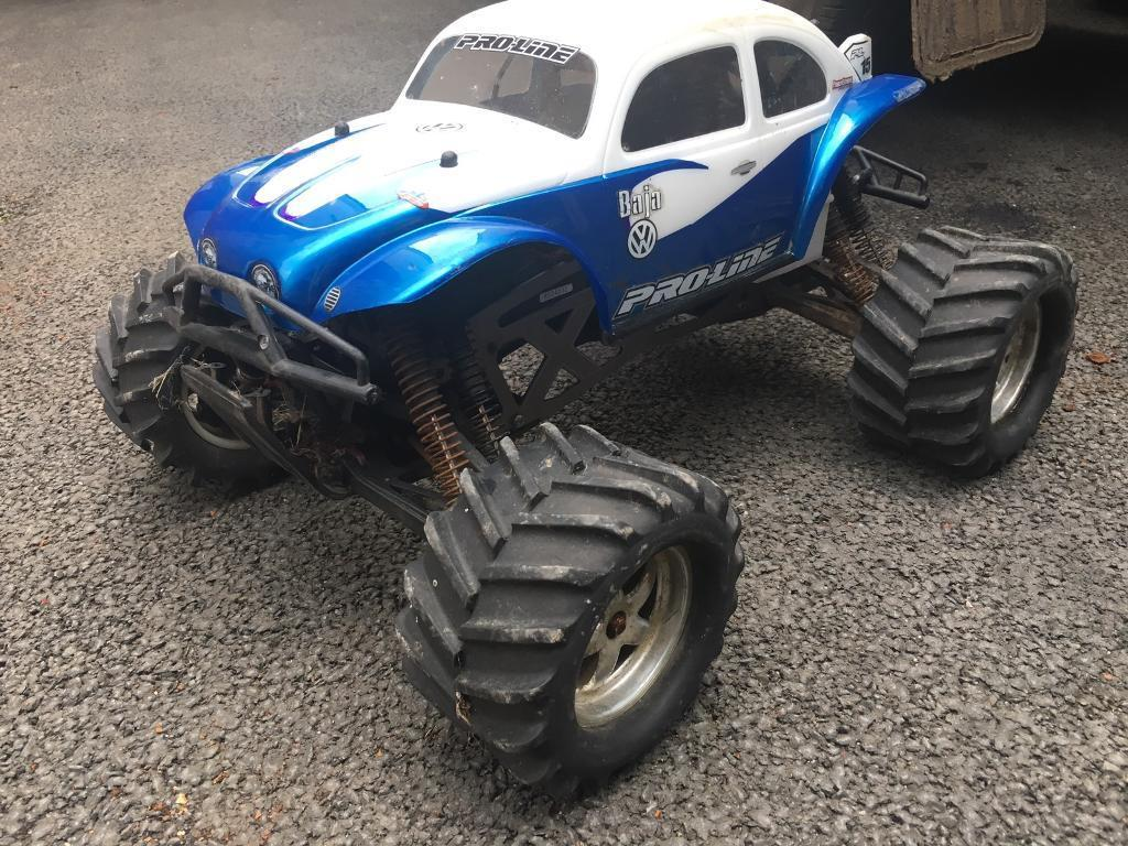 Rc Nitro Monster Truck Hpi Savage X 5.9