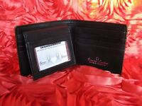 Genuine leather wallet / purse / porte-monnaie for men