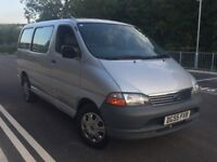 TOYOTA HIACE 2.5 D4D DIESEL MINIBUS 1 OWNER GOOD CONDITION INSIDE OUT