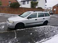 04 Vauxhall Astra Estate Deisel Manual Silver Low Mileage