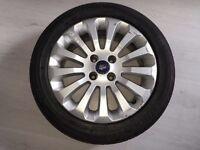 "Ford KA Zetec 15"" alloy wheel 2009-2014 genuine ford single alloy wheel only"