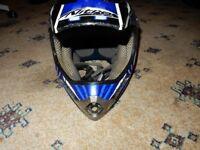NITRO MX417 Motorcycle Helmet SIZE L RACING HELMET