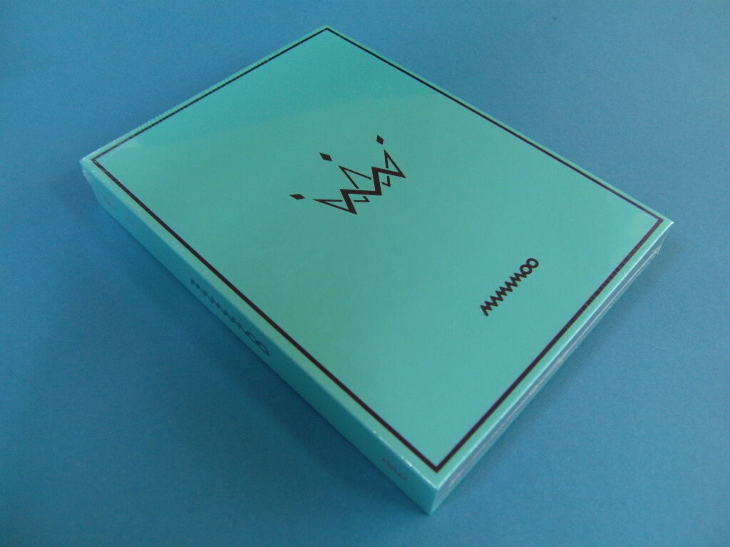 Mamamoo - purple [b. ver.] cd w/photo booklet + photocard +2 unfold poster k-pop
