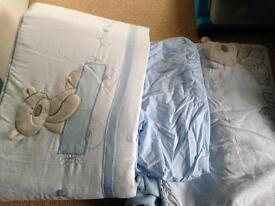 Mothercare cot bedding