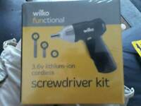 Screwdriver kit