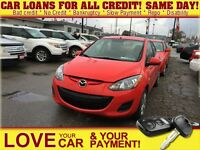 2012 Mazda MAZDA2 GX * CAR LOANS THAT FIT YOUR BUDGET
