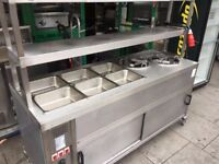 FOOD WARMER BAIN MARIE CATERING COMMERCIAL CAFE BBQ KEBAB KITCHEN RESTAURANT BAR FAST FOOD SHOP