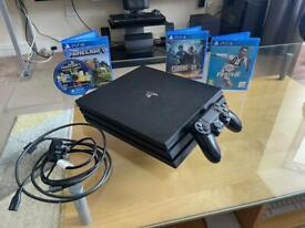 PS4 Pro Bundle + 4 Games