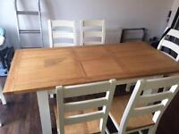 SOLD: Wooden Dining table (Chairs not being sold)