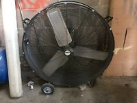 Clark industrial extractor fan