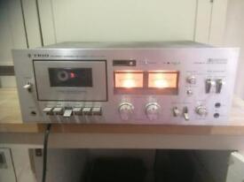 Trio KK1080 tape deck