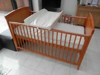 Cot Bed and Wardrobe for sale (Babies R Us range)