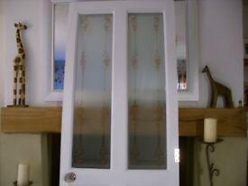 internal white door