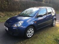 ★ ONLY 76,000 MLS ★ FULL YEARS MOT ★ 2 OWNERS ★ 2008 Ford Fiesta 1.4, 5dr CLIMATE ★ GOOD SERV HIST
