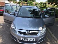 2007 Vauxhall Zafira 1.6 i 16v Life 5dr Low Mileage 7 Seater @07445775115