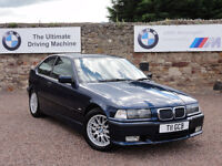 "BMW E36 318ti Sport Edition, ""Individual"", Manual, 84k Miles, MOT: 1 Year, Private Plate Inc"