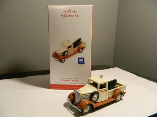 "2018 Hallmark Keepsake Mini 1936 GMC Pickup Ornament 2"""